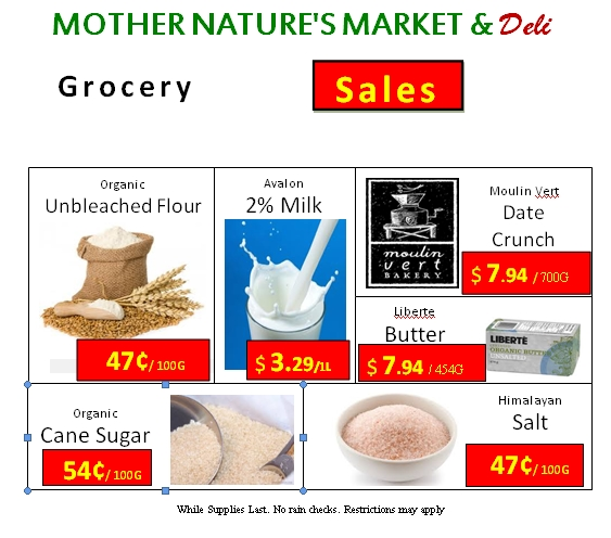 Mother Nature S Market And Deli Sidney Bc